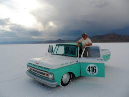 Old Ford Truck Drag Racing - friends on the salt 2012 bonneville speed week preview