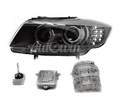 bmw e90 headlights bmw 3 series e90lci e91lci bi xenon headlight left side assembled