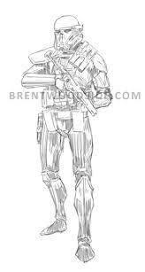 death trooper brent woodside illustrations