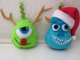 monsters inc inspired mike wazowski and sulley tree