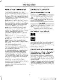 ford kuga 2010 1 g owners manual
