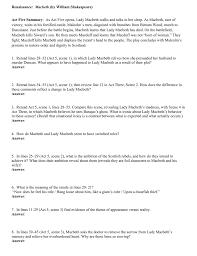 themes of macbeth act 2 scene 1 renaissance macbeth by william shakespeare act five summary