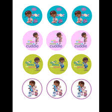 doc mcstuffins cupcake toppers characters doc mcstuffins cupcake toppers