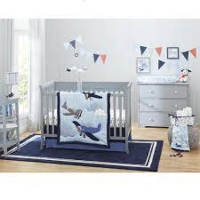 carter u0027s take flight 4 piece crib bedding set babies