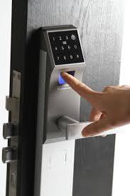 Keypad Interior Door Lock Smart Touchpad Keypad Digital Code Induction Door Lock Digital