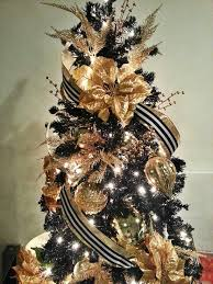 black and gold decorations decor