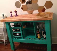 ikea groland kitchen island kitchen island turned custom bar ikea hackers ikea hackers