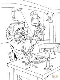 one hand pirate coloring page free printable coloring pages