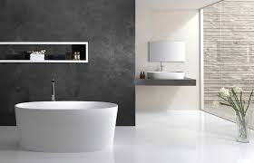 cloakroom bathroom design ideas with white toilet idea and blue