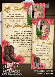 wedding invitations san antonio km print custom invitations san antonio custom quinceanera