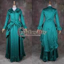 green medieval victorian dress costume renaissance dress