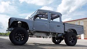 land rover defender lifted risking perfection project spectre d130 defender youtube