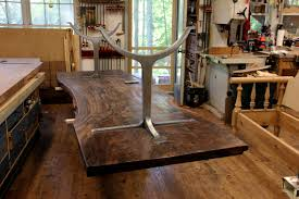 wood slab table legs dorset custom furniture a woodworkers photo journal what kind of
