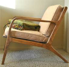 danish mid century teak lounge chair trevi vintage design
