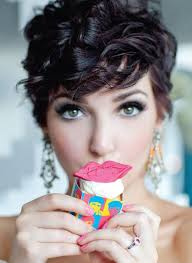 short wavy pixie hair 20 gorgeous wavy and curly pixie hairstyles short hair ideas