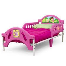 Dora The Explorer Bedroom Furniture by Dora The Explorer Toddler Bed Walmart Com