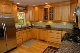 Maple Kitchen Cabinets With Granite Countertops Granite Countertops With Maple Cabinets Bstcountertops