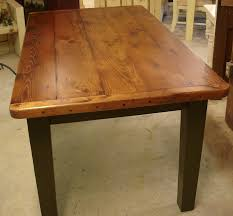 Amish Dining Room Furniture Plank Farm Table Breadboard Ends Dutchcrafters Dining Tables
