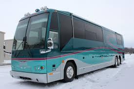 sold 2003 prevost h3 45 hoffman double slide panterra coach