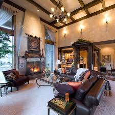 Tuscan Style Interiors For A Bend OR Home Traditional Family - Tuscan family room
