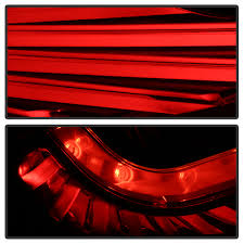 nissan 350z led tail lights black smoked for 03 04 05 g35 35gt coupe led tail lights brake