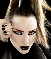 gothic makeup for girls look 2 goth lips face makeup ideas