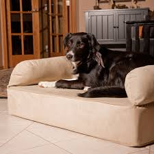 snoozer luxury memory foam dog sofa hayneedle