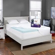Sleep Number Bed Stores In Northern Virginia Perfectemp 3 U0027 U0027 Gel Memory Foam Deep Pocket Mattress Topper