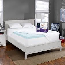 Bed Topper Perfectemp 3 U0027 U0027 Gel Memory Foam Deep Pocket Mattress Topper