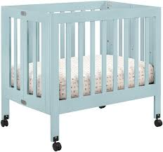 Hudson 3 In 1 Convertible Crib by Bedroom Babyletto Origami Mini Crib Lagoon For Nursery Furniture