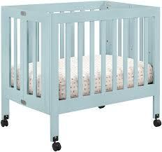 Convertible Mini Crib by Bedroom Babyletto Origami Mini Crib Lagoon For Nursery Furniture