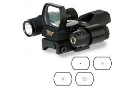 laser and light combo bsa optics panoramic green red dot sight with laser and light