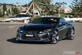 lexus lc interior 2017 lexus lc 500h review video performancedrive