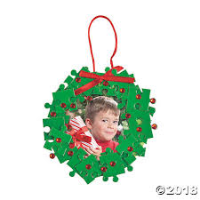 wreath picture frame ornament craft kit