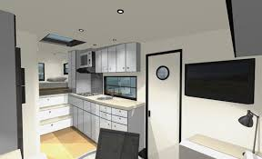 Rv Modern Interior Custom Rv Designs A Residential Architect Tackles A New Obsession