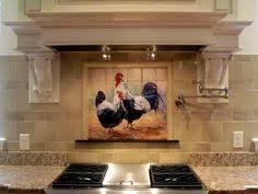 mural tiles for kitchen backsplash rooster tiles kitchen backsplash tiles pickin chickens vs