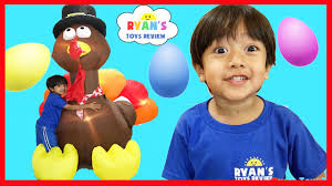 thanksgiving mickey mouse huge surprise eggs opening thanksgiving turkey disney toys mr