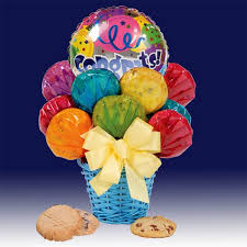 balloon and candy bouquets congrats bouquet when a big congratulations is in order send this