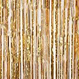 Gold Foil Curtain by 2 X Big Large 3ft X 8ft Gold Fringe Foil Curtain Party Tassel You