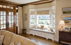 livingroom window treatments how to solve the curtain problem when you bay windows