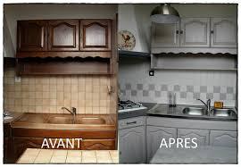 cuisine avant apr鑚 beton mineral salle de bain 14 relooking cuisine avant apres