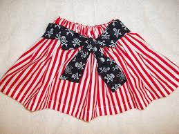 Pirate Costume Baby Dress Up Skirt Disney Cruise Halloween Red