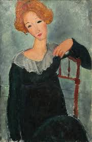 modigliani woman with a fan the history of amedeo modigliani s portraits dailyartmagazine com