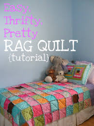 Crib Comforter Dimensions Crib Size Rag Quilt Patterns All About Crib