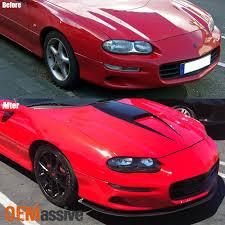 02 camaro headlights black 1998 1999 2000 2001 2002 chevy camaro headlights