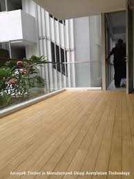 pressure treated wood vs acetylated wood