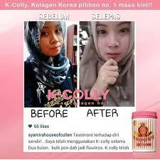 K Collagen k colly sweet 17 korean nano collagen 1 500 000 mg whitening anti