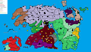 Map Of Nirn Using Mc Paint Civ V And A Pre Existing Map I Ended Up With A