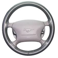 steering wheel for mustang mustang steering wheel cover charcoal 99 04 ws10219axx