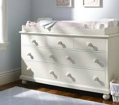 White Changing Table Topper Wide Dresser Changing Table Topper Set Pottery